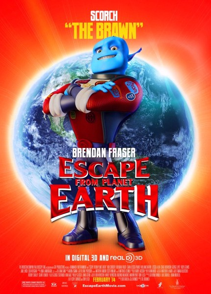 scape دانلود انیمیشن Escape from Planet Earth 2013